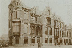 Our mansion in 1895